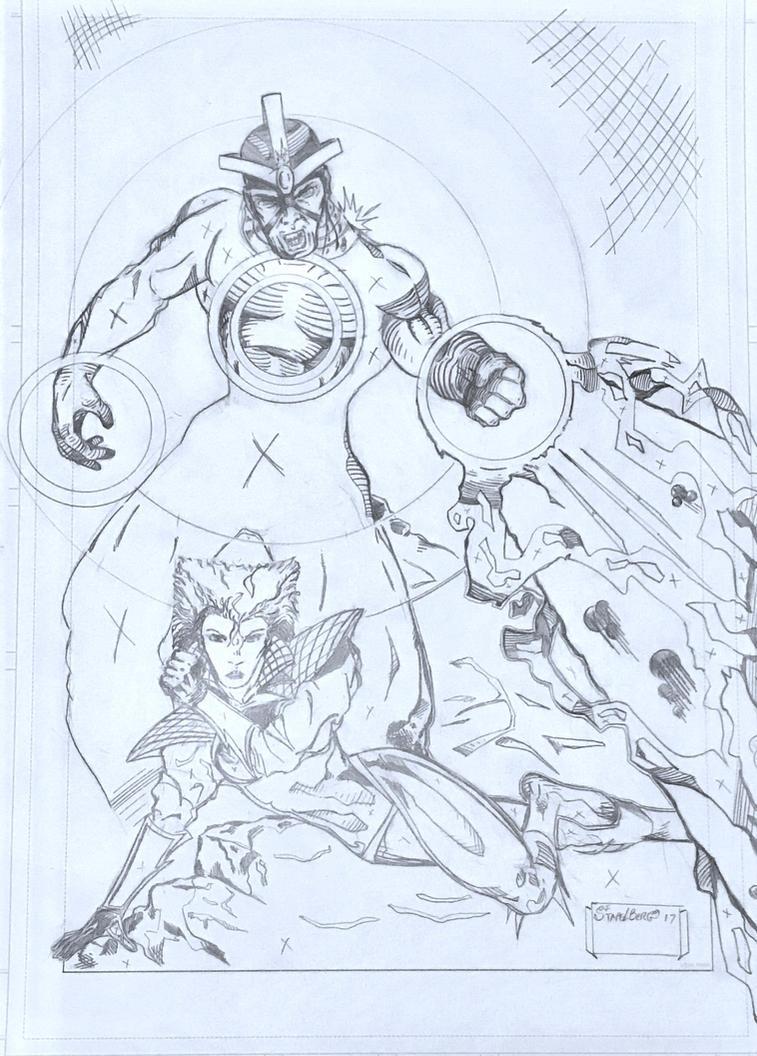 X-Men 249 Redux by Stapelberg