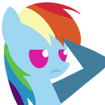 Rainbow Dash B.B.B.F.F. Style