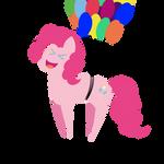 Pinkie Pie takes a flight