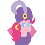 Madame Pinkie is not amused