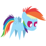 Rainbow Filly is watching you