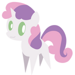 Sweetie Belle sees you