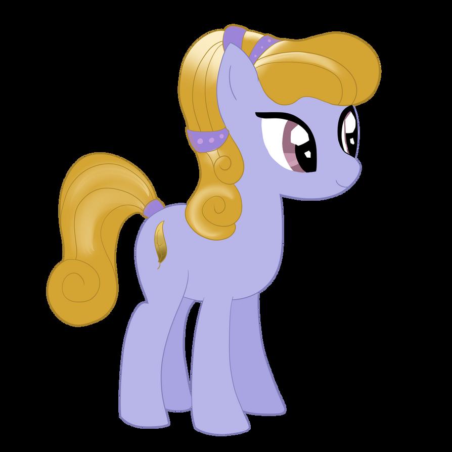 Random crystal Pony by Dragonfoorm