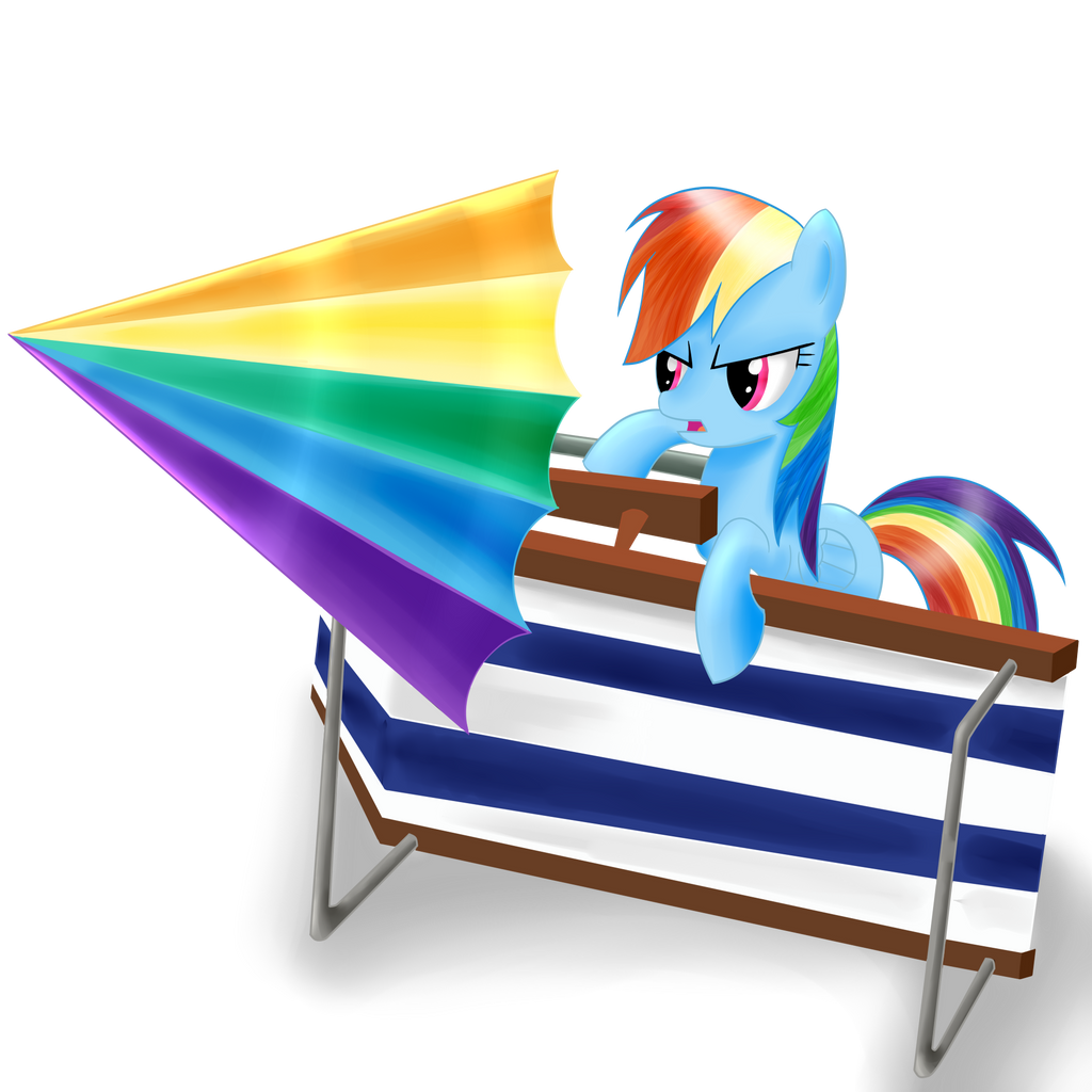 Rainbow Beach Fortress by Dragonfoorm