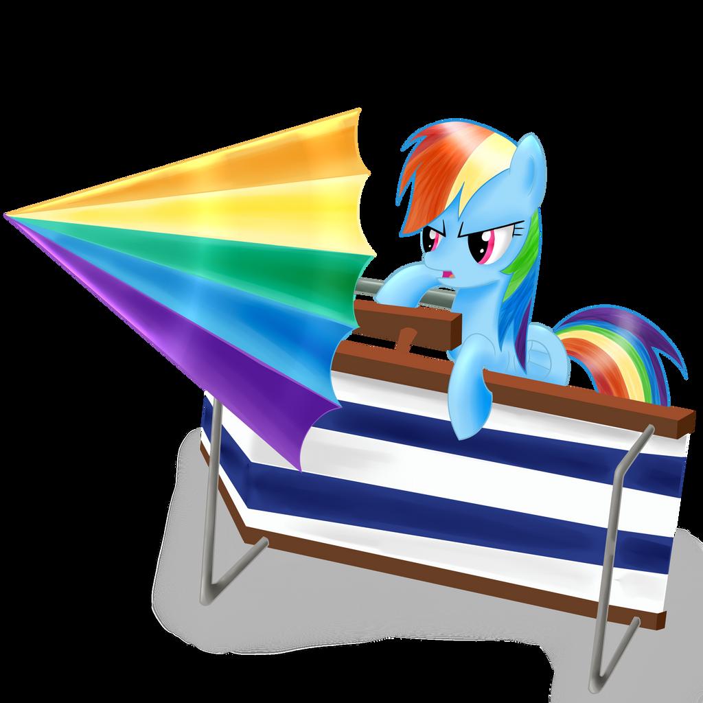 Rainbow Beach Fortress by Dragonfoorm