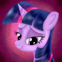 Twilight Sparkle Portrait by Dragonfoorm
