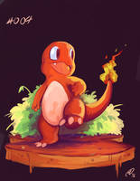 Charmander by MattCarberry