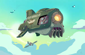 Airship by MattCarberry
