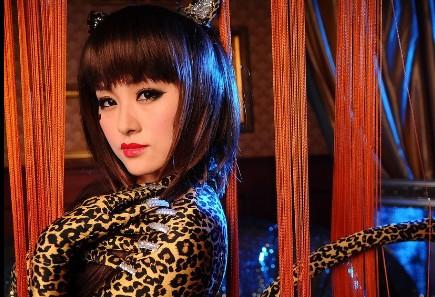 Sexy Leopard zentai by mysexyzentai
