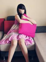 Zentai with beautiful dress by mysexyzentai