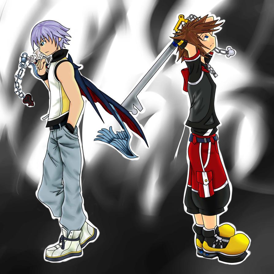 Sora And Riku By Fwirleh On DeviantArt