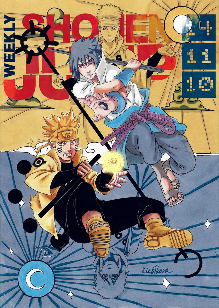 Shonen Jump cover contest by MariaKlepikova