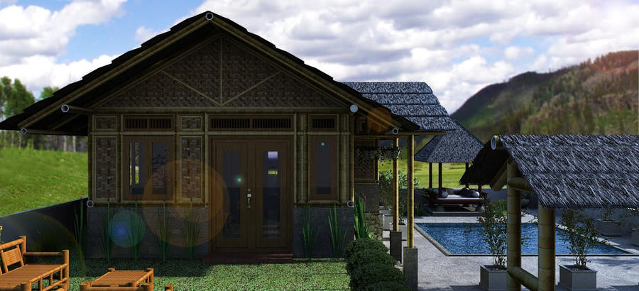 Bamboo House Design at Cirebon by nop82 on DeviantArt
