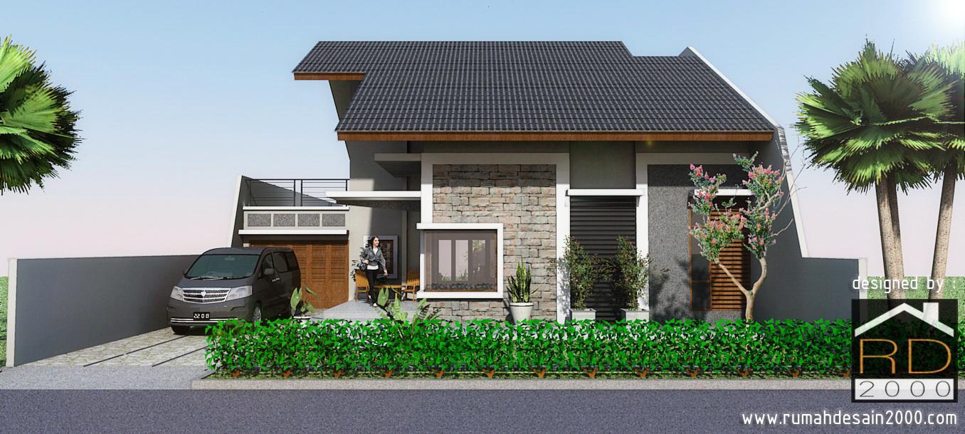 Tampak Depan Rumah Minimalis 1 Lantai Cinere By Nop82 On Deviantart