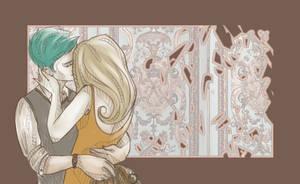 Teddy and Victoire by shaiiim