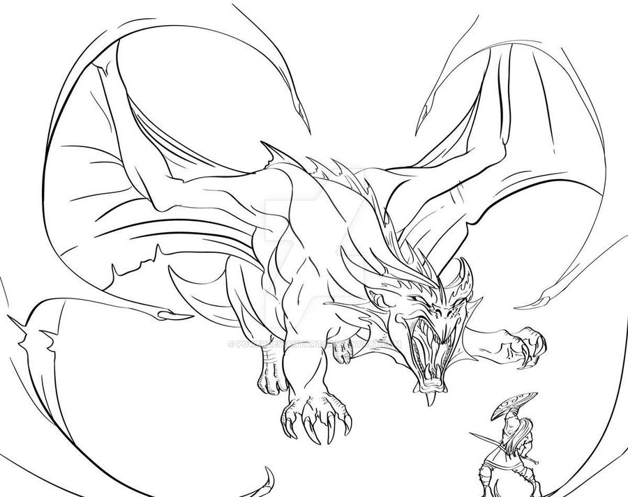 Dragon Tattoo Design By Powerdeviantart On Deviantart