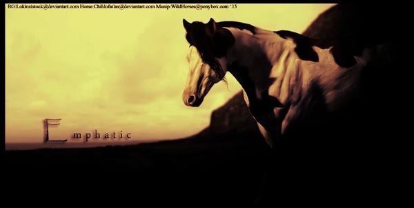 Emphatic by HorsesRule8