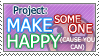 Project: Happeh - Stamp by LexaKirk