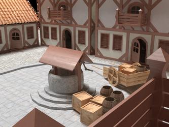 medieval Village Wip by OceansCurse