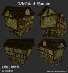 Medieval House by OceansCurse