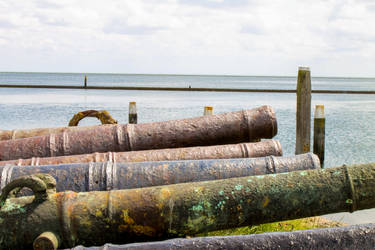 Lined Up Cannons by OceansCurse