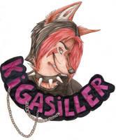 Trade - Kigasiller. Badge by Canisabscedo