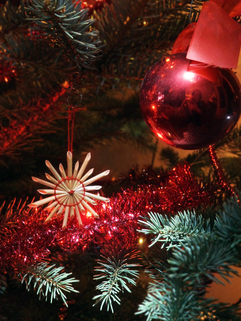 Christmas Red Living Room