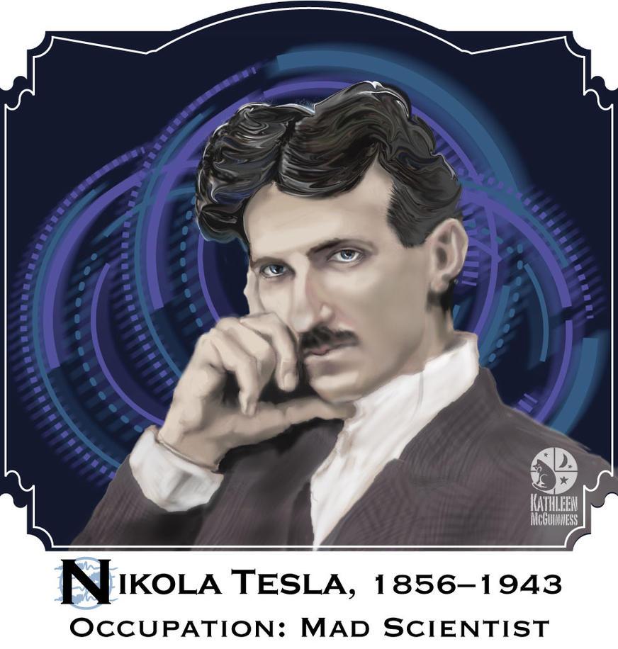 Nikola Tesla Wallpapers: NIkola Tesla By Katcolorist On DeviantArt