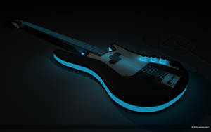 Neon Electric Guitar by GrooveElement