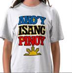 ako'y isang pinoy t-shirt
