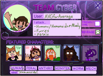 Team Cyberpunk! by AVGforAverage