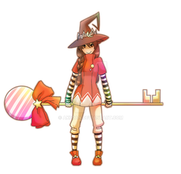 OC:: Candy Witch ID
