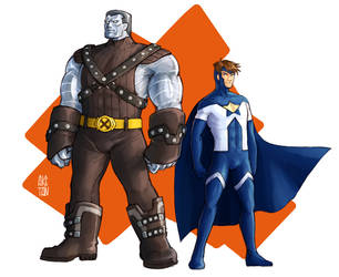 Colossus and Justice by aketan