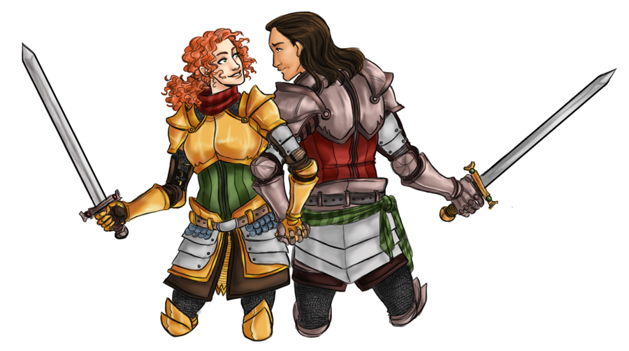 Jane and Gunther - Commission by HyperBali