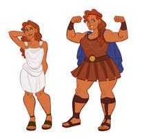 Lady Hercules by HyperBali