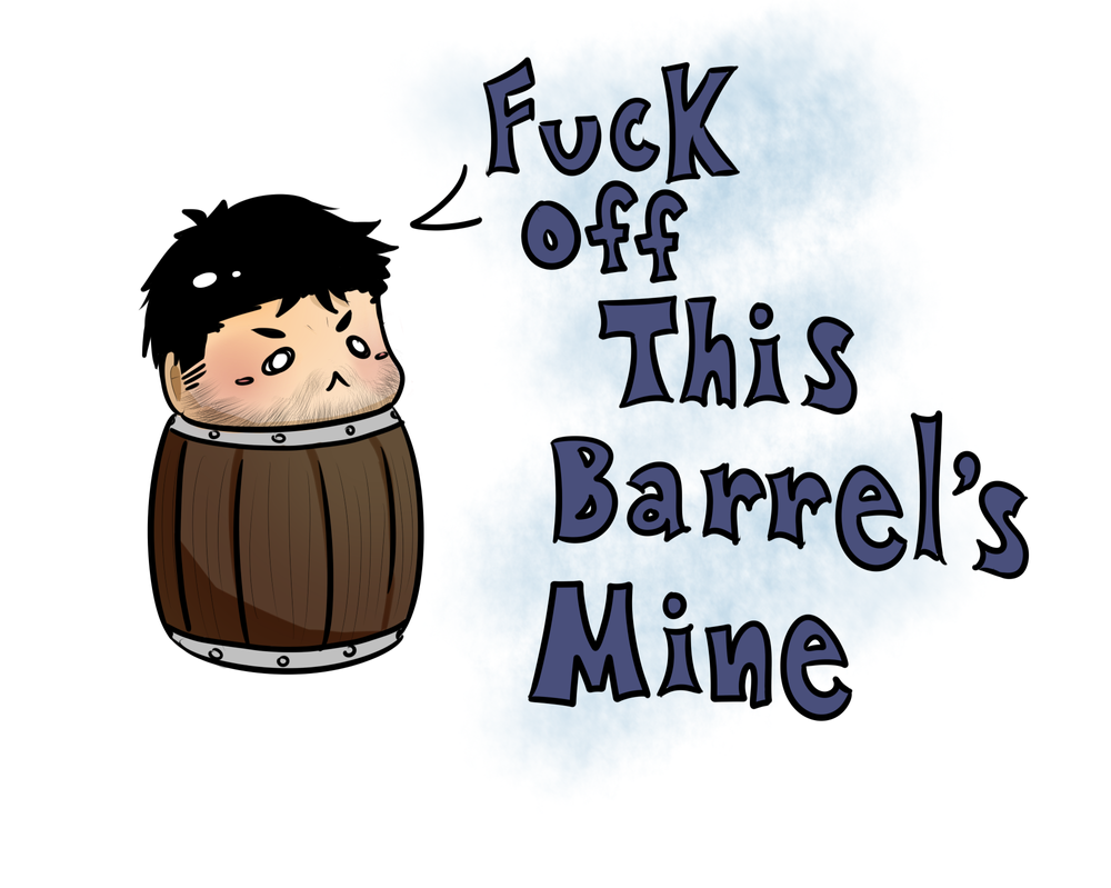 Barrel Chris by Lunamageice