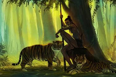 Tiger Boy2 by priteshrane