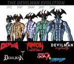 The Devilman Evolution