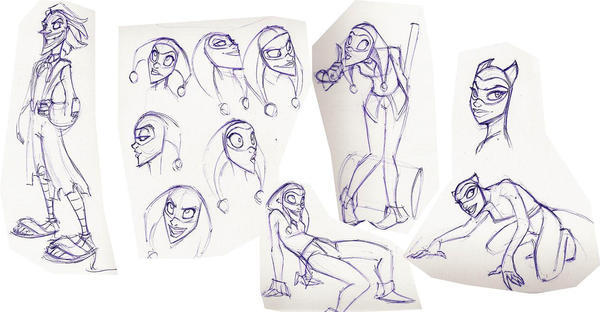 batman concept by enolianslave