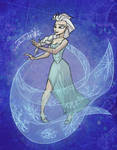The cold never bothered me