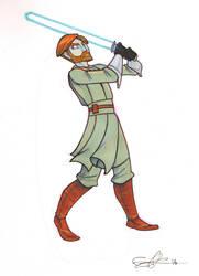 Obi Wan by enolianslave