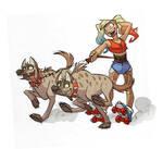 hyena power