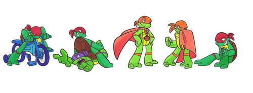 kiddy turtles