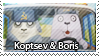 usavich Biris n Kopstev stamp by bergrimlo