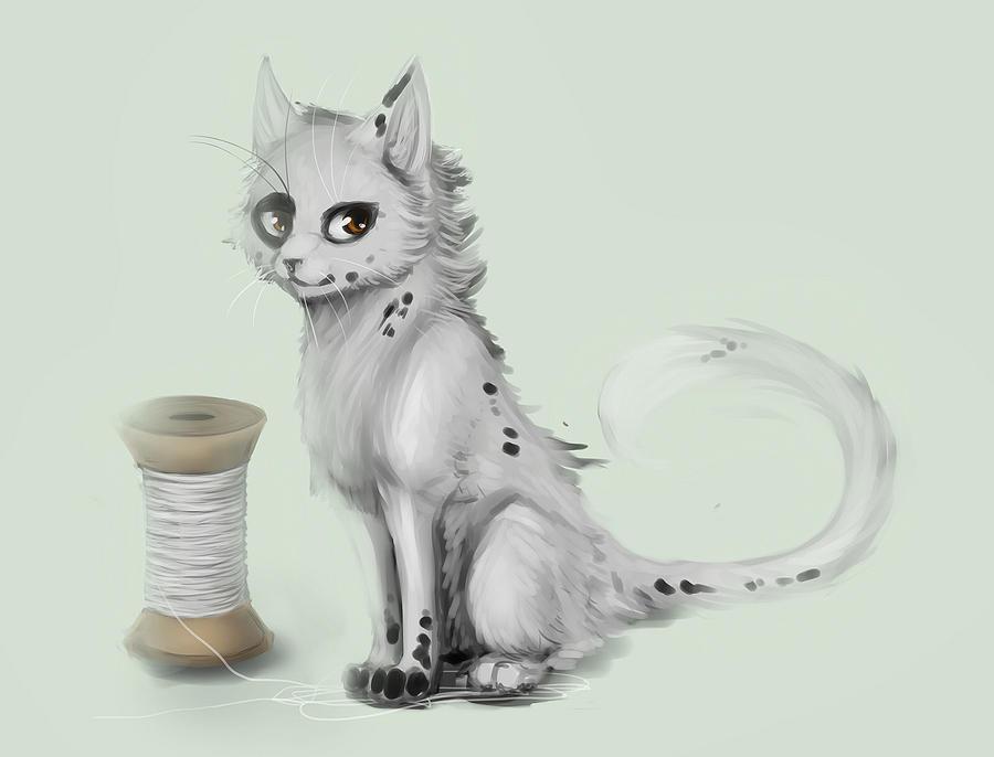 cat by bergrimlo