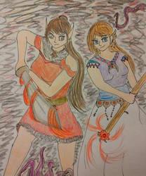 Samura and Sakura by Samarkana