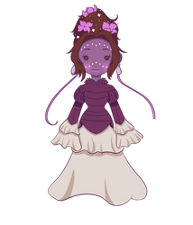 Selva and the Poofy Dress by AmberCopper