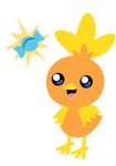 Torchic and the Rare Candy