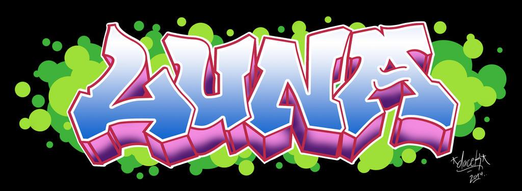Graffiti Digital Luna by jcarlosmb93 on DeviantArt