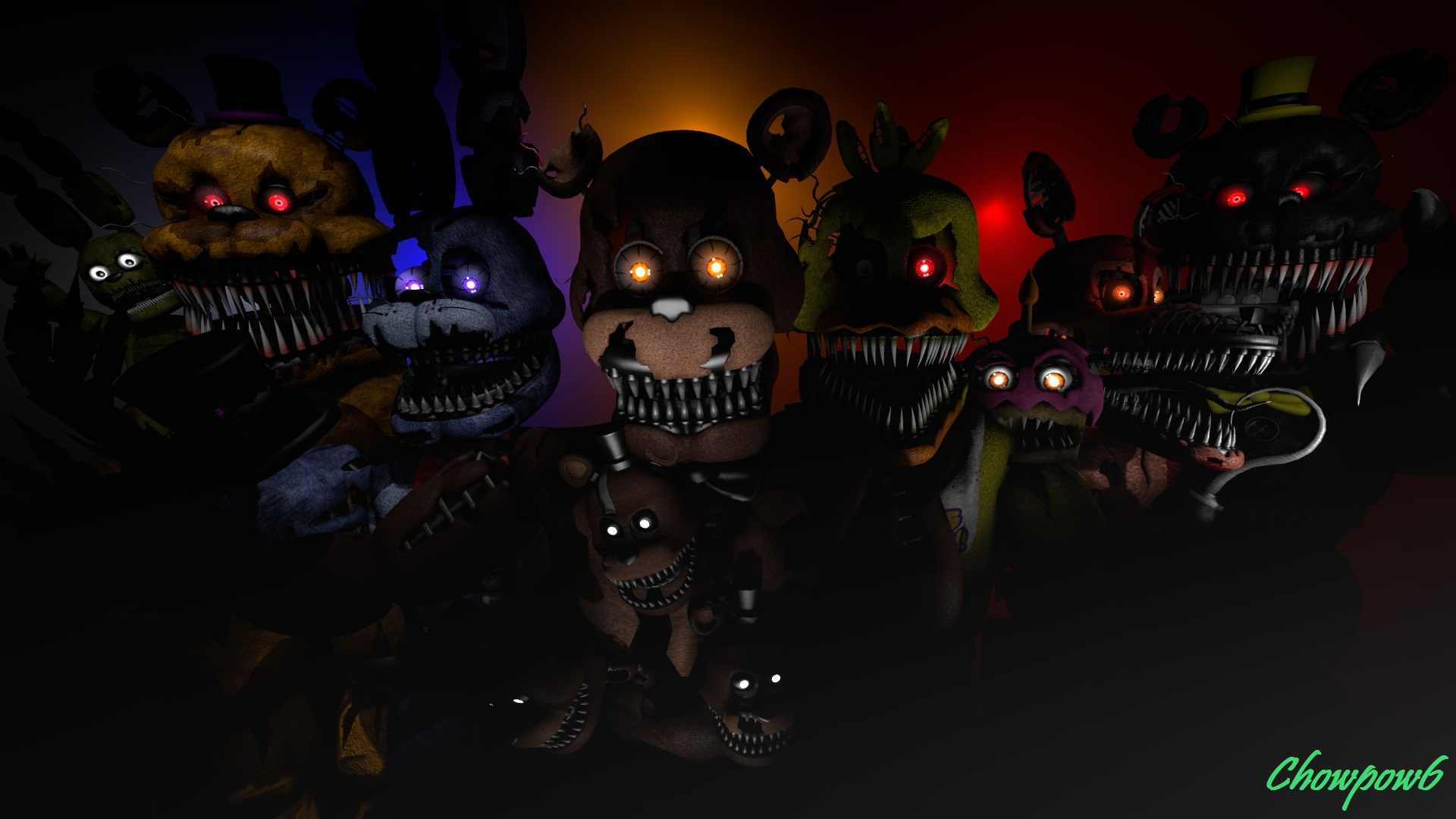 Five Night at Freddy's... Nightmare Night Wallpaper
